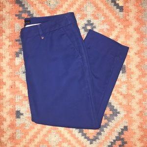 Navy Dress Capri Pants